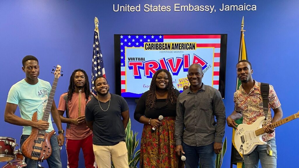 PAS, Kingston commemorated Caribbean American Heritage Month by hosting a weekly trivia competition on Facebook live with two hosts asking questions in the areas of Arts and Culture, Sports, Business, Politics, Education and Science.
