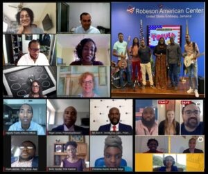 A snapshot of U.S. Embassies across the Caribbean celebrating Caribbean American Heritage Month through a variety of virtual speakers, trivia, and virtual panel discussions highlighting our special relationship.