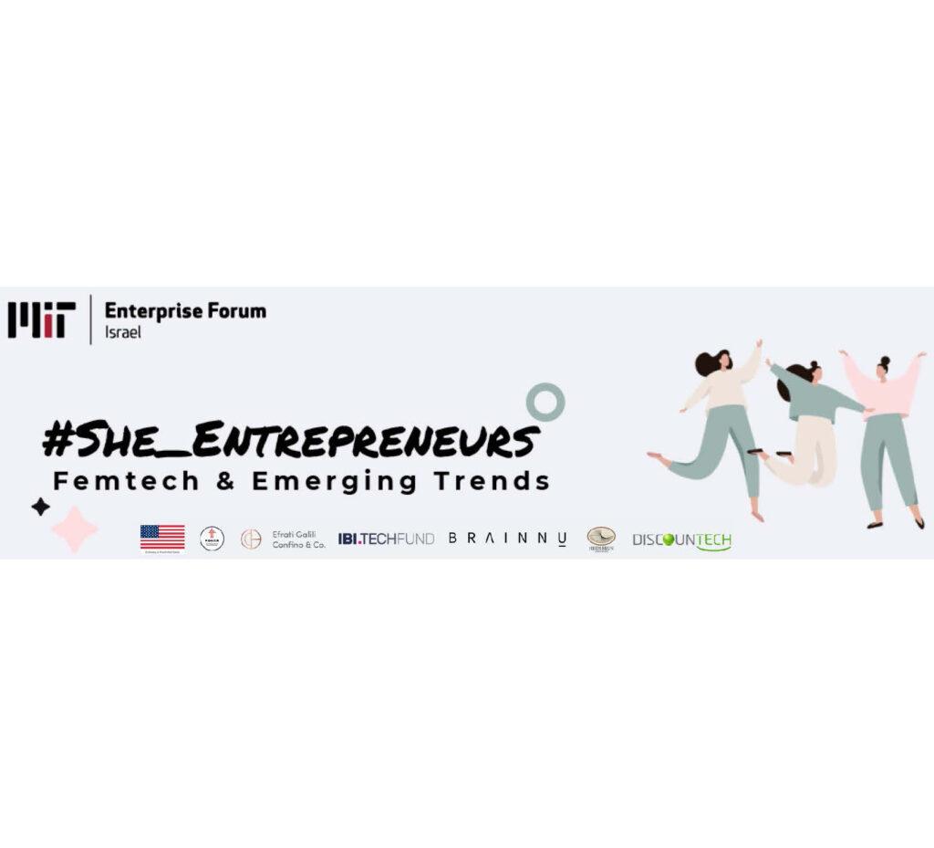 FemTech She Entrepreneurs Banner Image