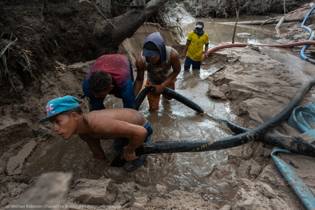 Mining is decimating Venezuela's jungles as the government enciurages it in the quest for hard currency.
