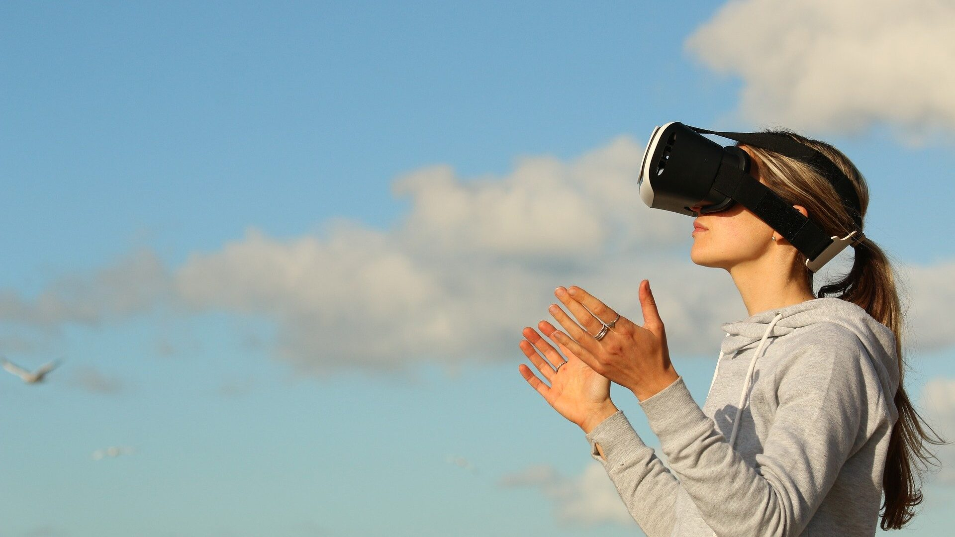 Virtual reality provides the user with a completely immersive experience.