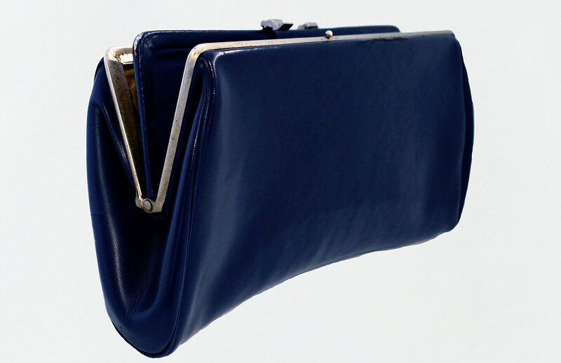 Clutch used by Patti Morton to hold her .357 Magnum pistol while assigned to the Washington Field Office in the early 1970s. (Collection of the National Museum of American Diplomacy)