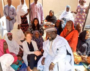 CSO deployed almost 60 stabilization advisors in the last year to 55 countries including Georgia Jewett to Diffa, Niger near Lake Chad. (Photo courtesy of CSO/Africa)