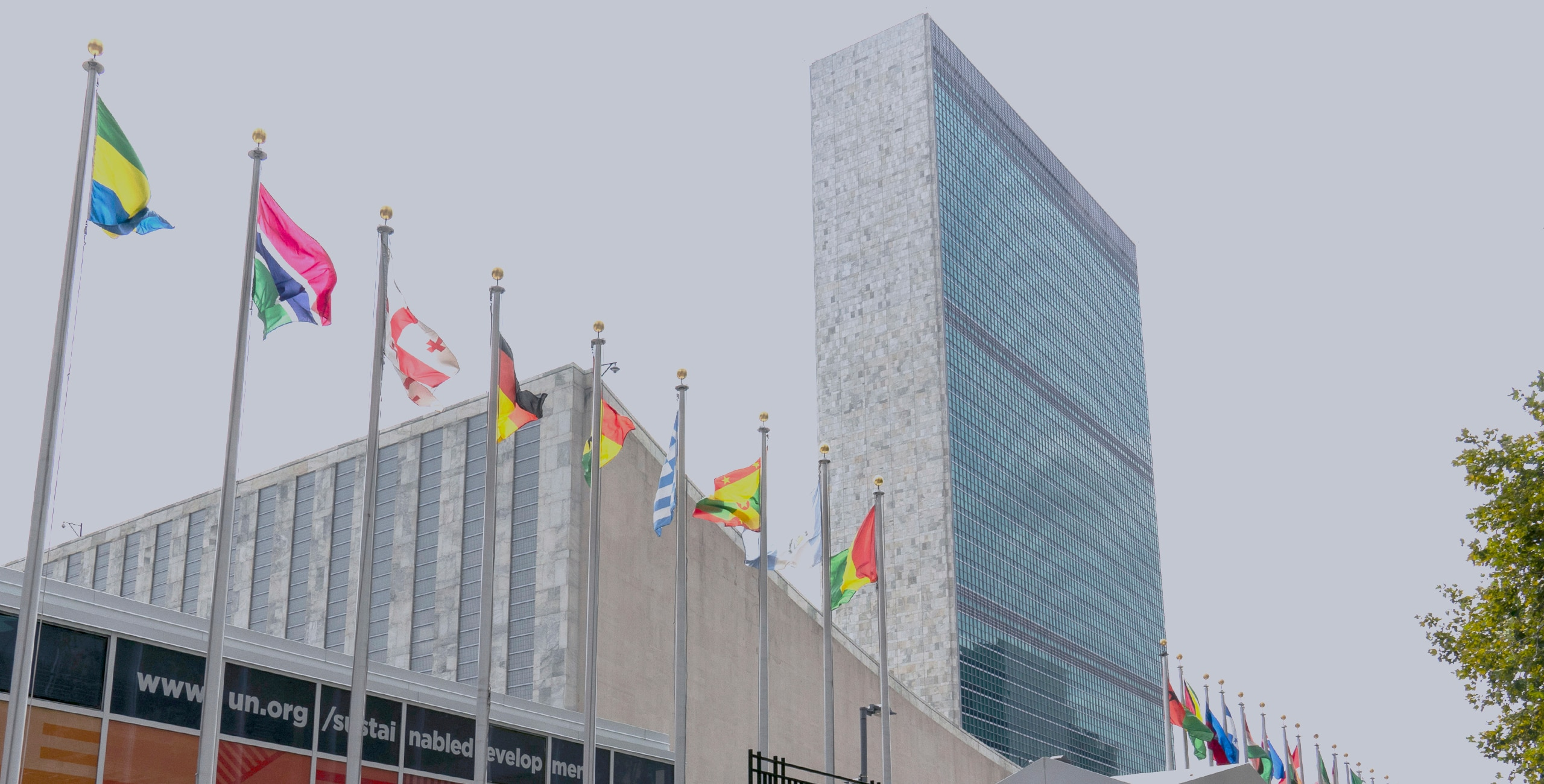 United Nations headquarters.