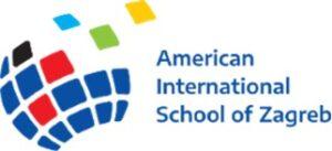 Logo for the American International School of Zagreb