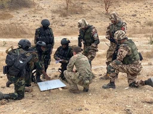 Cameroon, Morocco, and the U.K. planning ahead of Close Quarters Combat (CQC) scenario