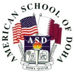 Logo for the American School of Doha
