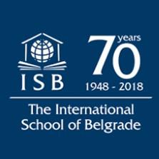 Logo for the International School of Belgrade