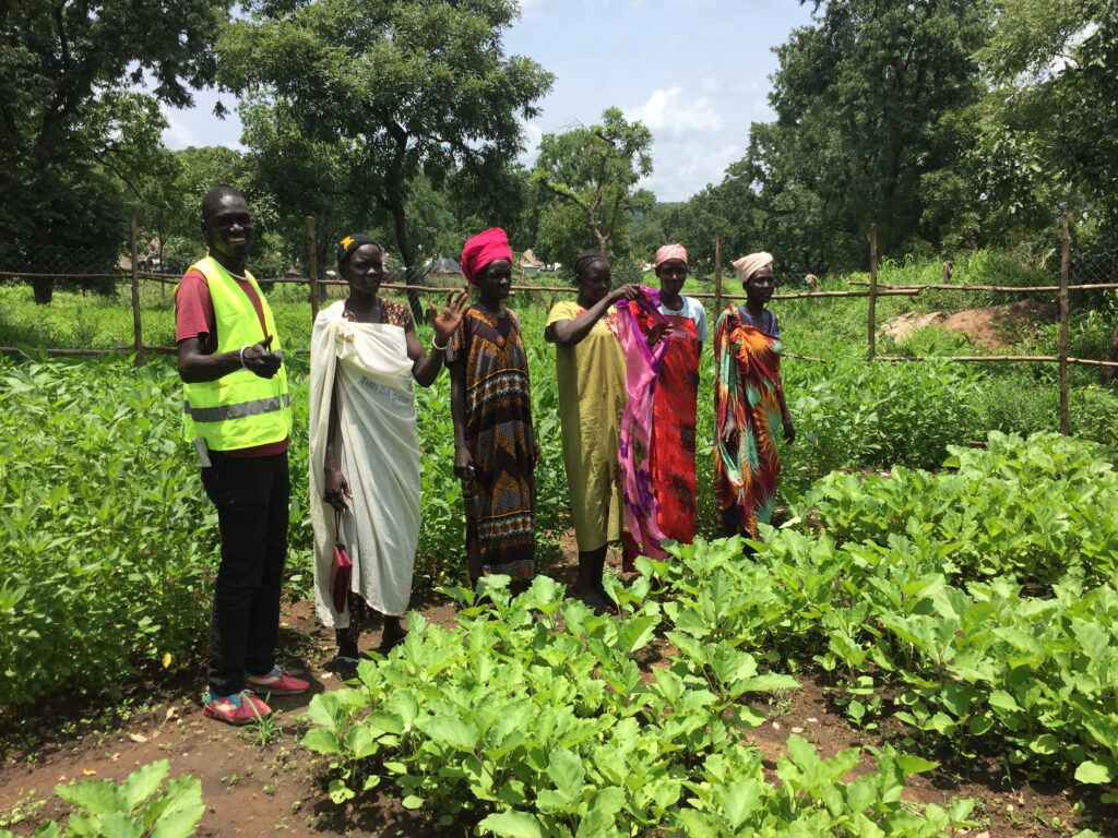 A Taft Fund grant from U.S. Embassy Addis Ababa to Lutheran World Federation helped women in Jewi Refugee Camp set up a community garden, providing both fresh food and a source of income.