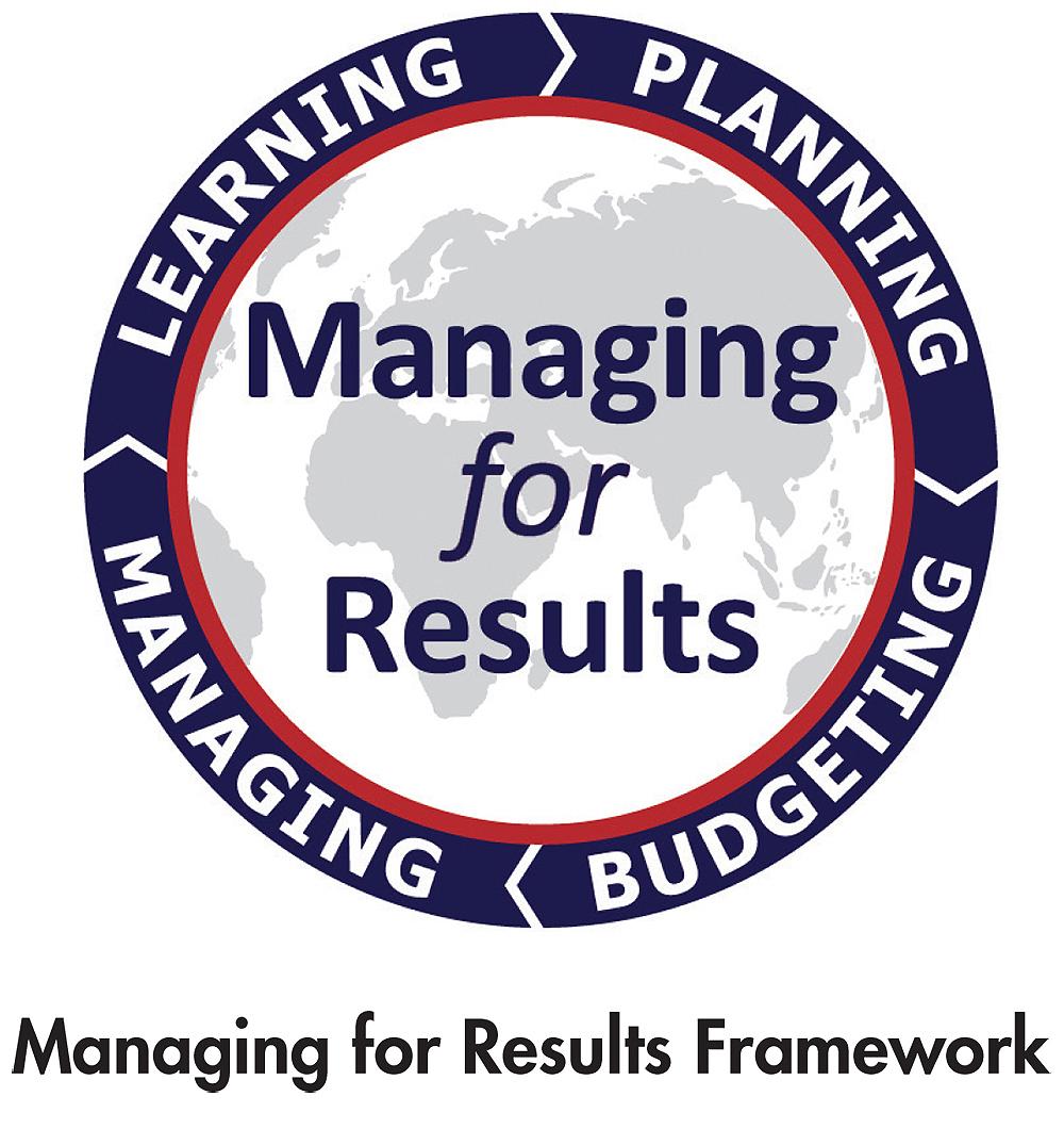 Managing for Results Framework logo