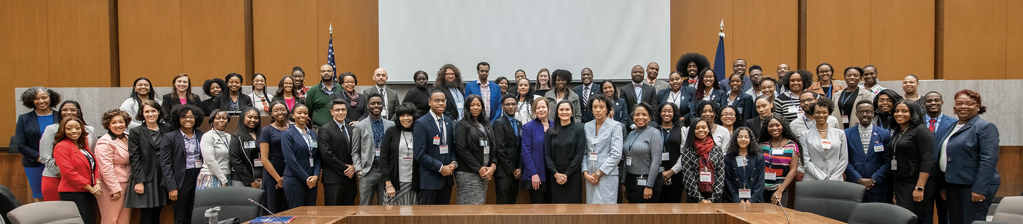 Photo showing the 11th Annual Historically Black Colleges and Universities Foreign Policy Conference in Washington D.C., February 14, 2020. [Department of State]