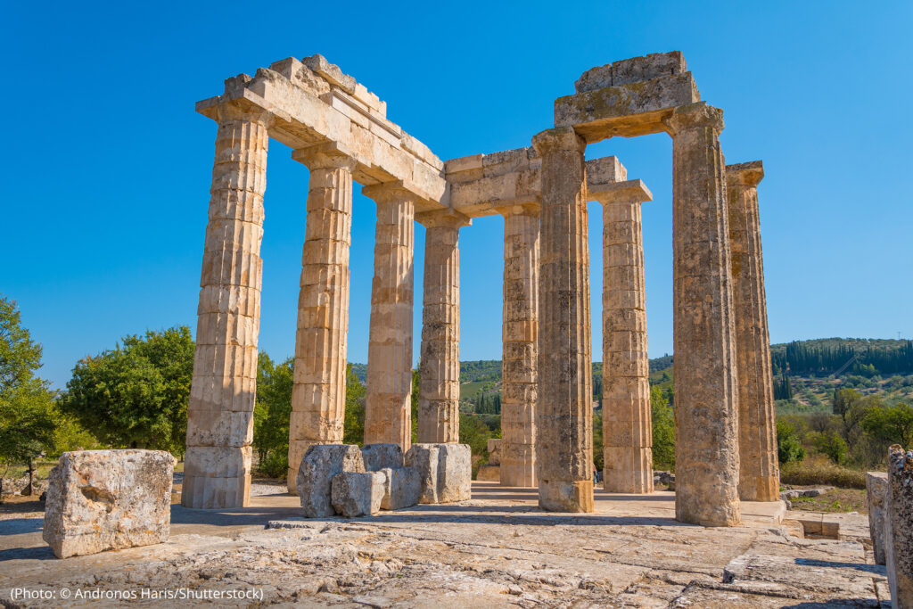 Heritage science helps us understand the historical and cultural context of architectural ruins, including ancient Greek temples.