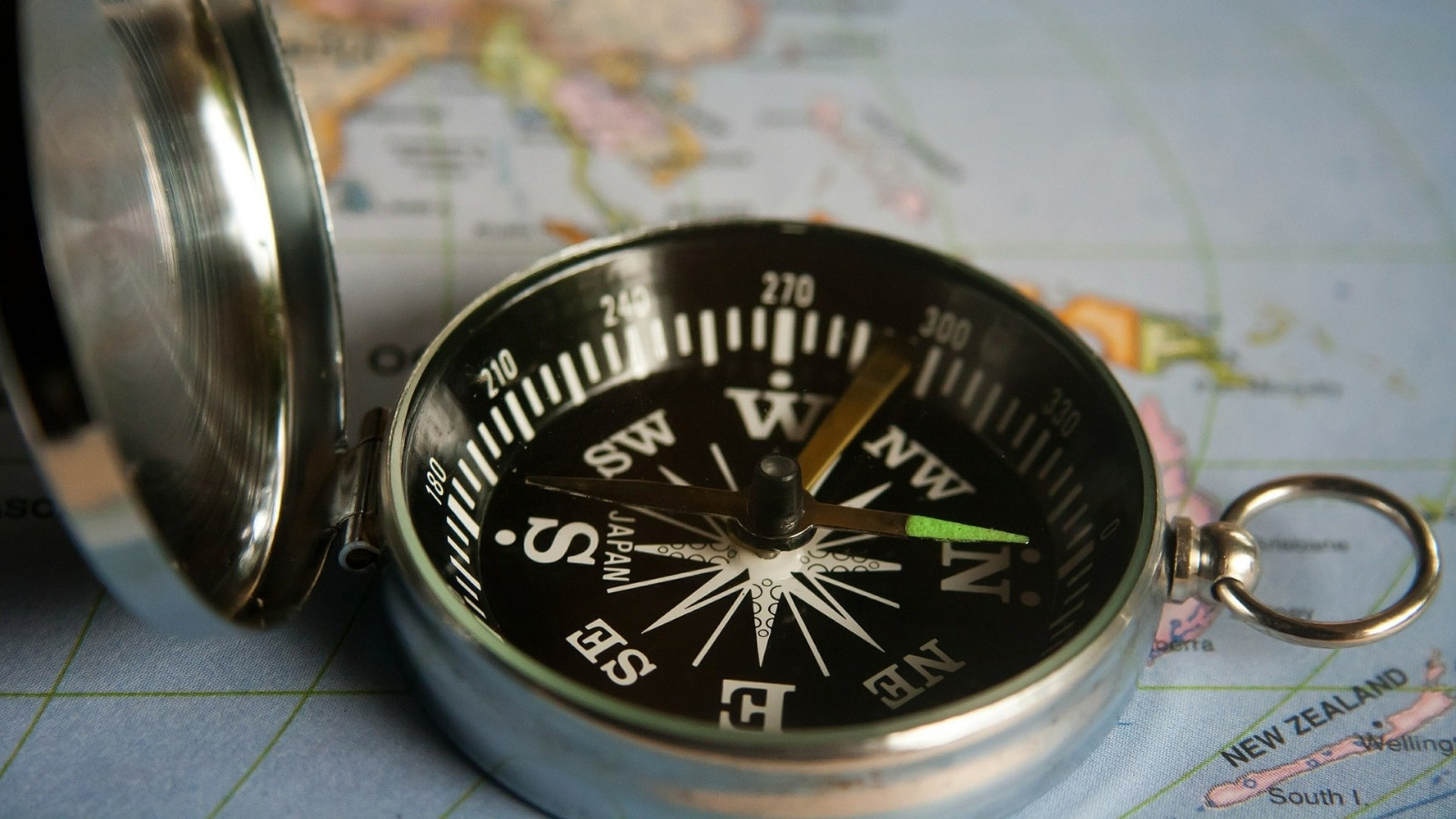 Magnetic compasses have used the geomagnetic field to orient travelers for centuries.