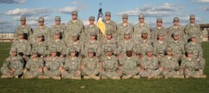 Kevin poses for a photo with his ROTC cohort at Embry-Riddle Aeronautical University-Prescott, Arizona in 2010. (Photo courtesy of Kevin Moss)