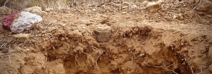 A hard-to-detect plastic anti-personnel mine cleared by MAG in Somalia. (Photo courtesy of MAG)