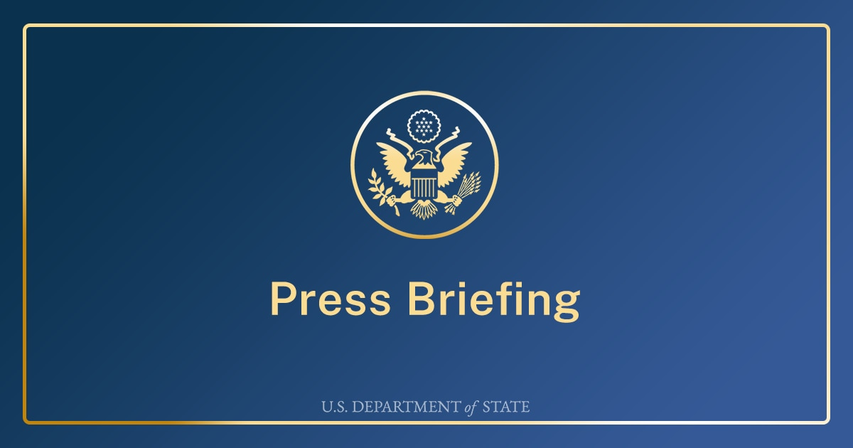 Department Press Briefing – March 2, 2021