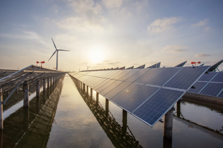 Clean Energy: Solar Panels and Wind Power