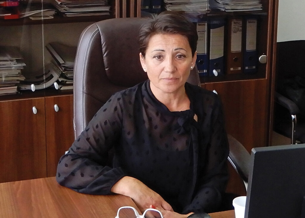 Nevenka Gavranović.. [Photo courtesy of ITF]