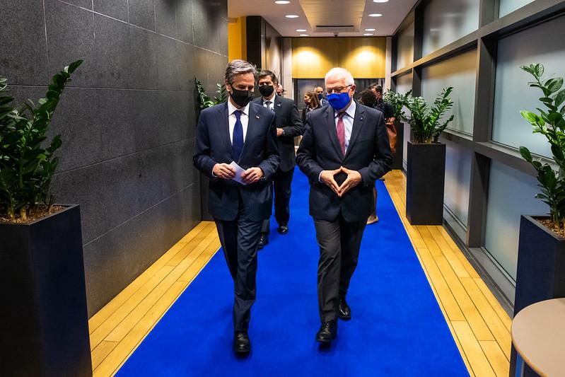 Secretary Blinken Meets with EU High Representative Borrell
