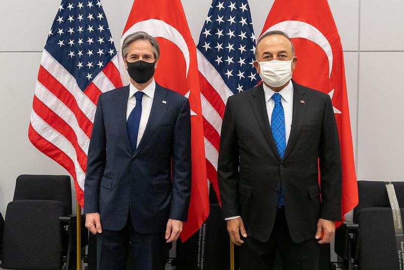 Secretary Blinken Meets with Turkish Foreign Minister Cavusoglu