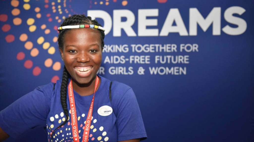 A DREAMS (Determined, Resilient, Empowered, AIDS-free, Mentored, and Safe) Ambassador working toward a brighter future. (Photo courtesy of PEPFAR)
