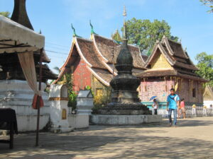 The Department helped restore the 16th century Wat Xieng Thong monastery in Luang Prabang, Laos. The monastery is made up of more than 20 monuments and buildings. (Photo courtesy of the Cultural Heritage Center)