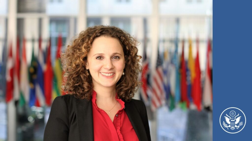 Yasmeen Hibrawi, the daughter of a Syrian-American immigrant, is a diplomat with the U.S. Department of State. She believes the U.S. is stronger when our diplomatic corps reflects the diversity of the population it represents. (Photo Courtesy Bureau of Near Eastern Affairs)