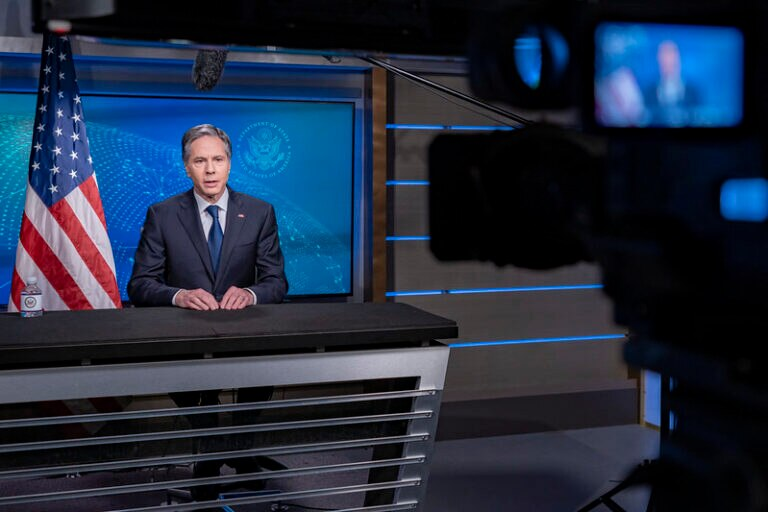 Secretary Blinken Participates in an Interview on Meet the Press