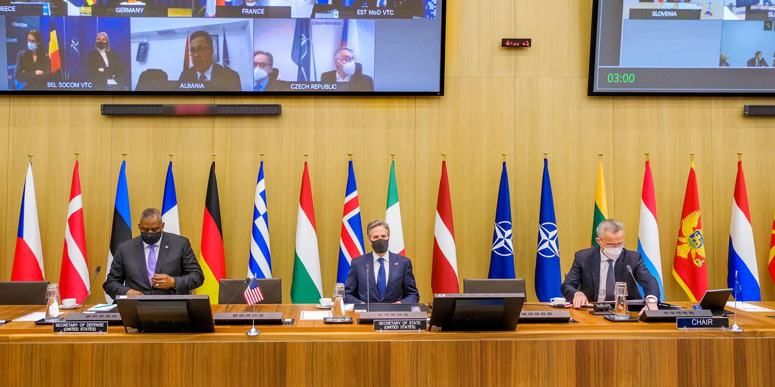 Secretary Blinken Participates in North Atlantic Council Meetings