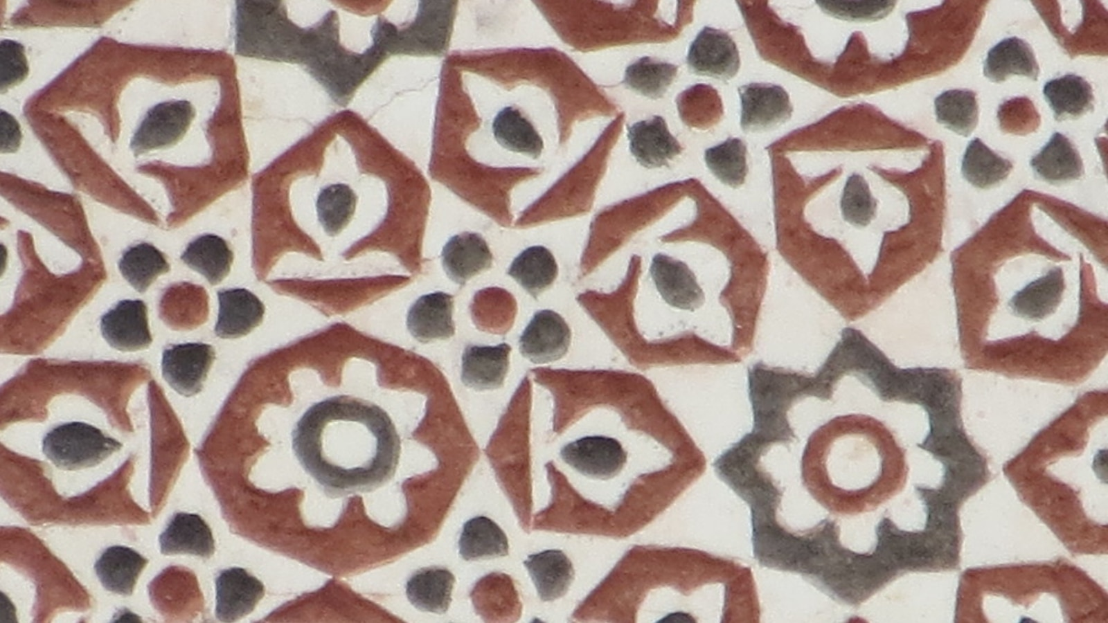 Plaster detail from inside the 16th century Batashewala Mughal Tomb Complex in Delhi, India. (Photo courtesy of the Cultural Heritage Center)