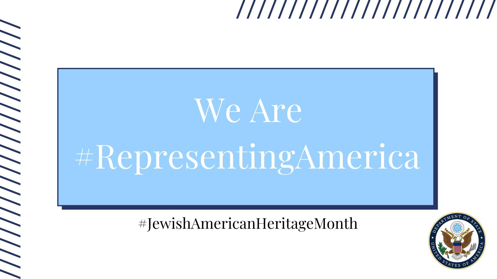 Graphic: Jewish American Heritage Month