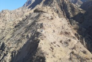 This is the road leading to Sarigor village that is currently under repair. (Photo by TNMAC)