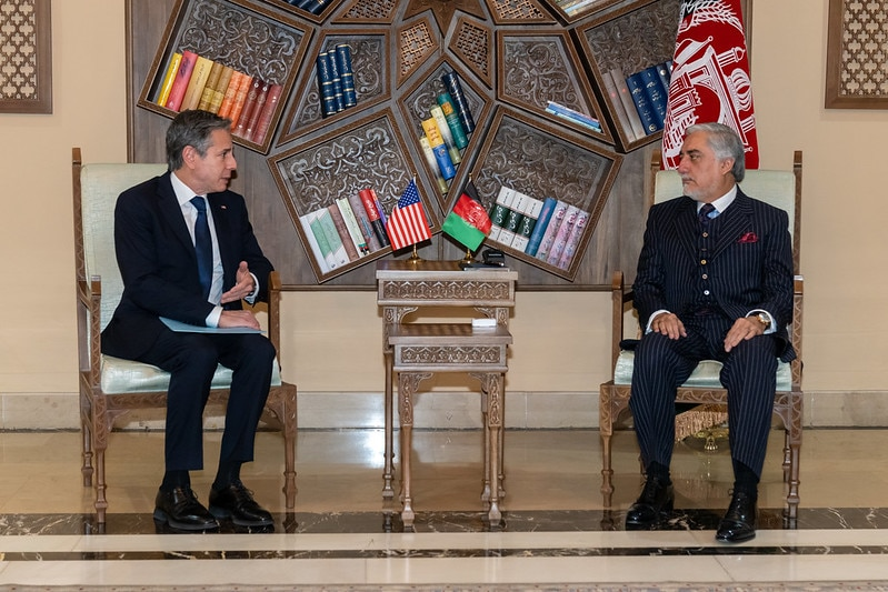 Secretary Blinken Meets with Afghanistan High Council for National Reconciliation Chair Dr. Abdullah Abdullah