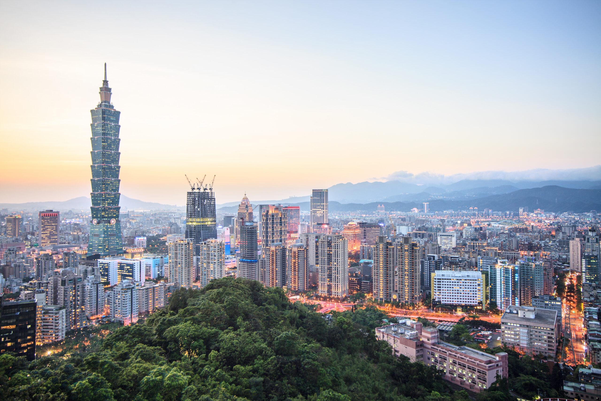 Skyline of Taiwan
