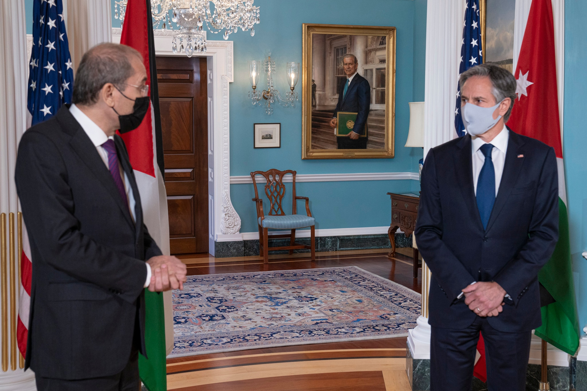 Secretary Blinken Meets With Jordanian Foreign Minister Ayman Safadi