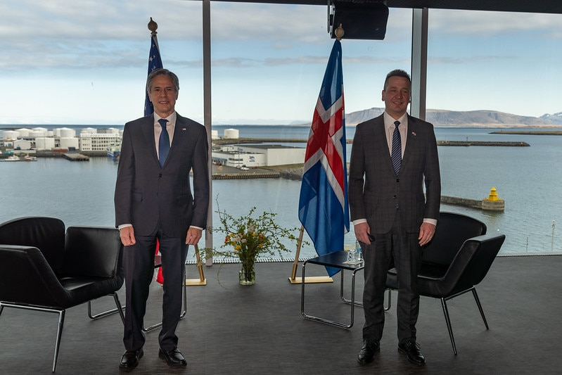 Secretary Blinken Meets with Icelandic Foreign Minister Thordarson