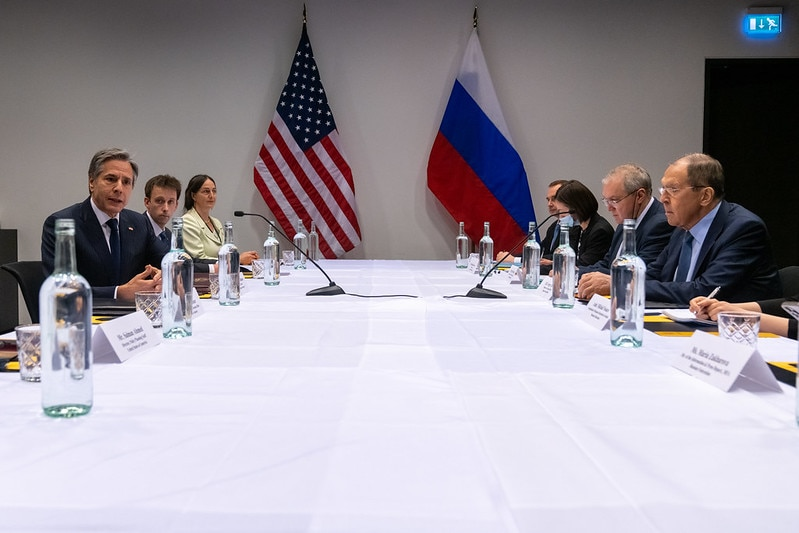 Secretary Blinken Meets with Russian Foreign Minister Sergey Lavrov