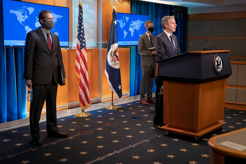 Secretary Blinken Delivers Remarks to the Press on the Release of the 2020 International Religious Freedom Report Image