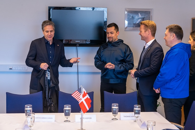 Secretary Blinken Meets With Greenlandic Premier Egede, Greenlandic Foreign Minister Broberg, And Danish Foreign Minister Kofod
