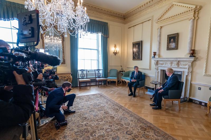 Secretary Blinken Meets With UK Prime Minister Johnson