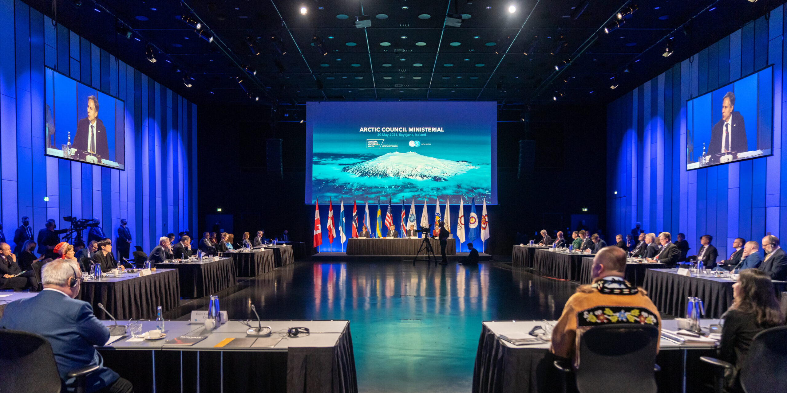 Secretary Blinken Participates In The Arctic Council Ministerial Meeting