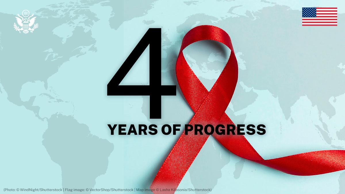 40th Anniversary Of AIDS: 40 Years Of Progress