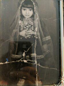 Photograph of Nabila as a child in Afghanistan. (Photo courtesy of Nabila)