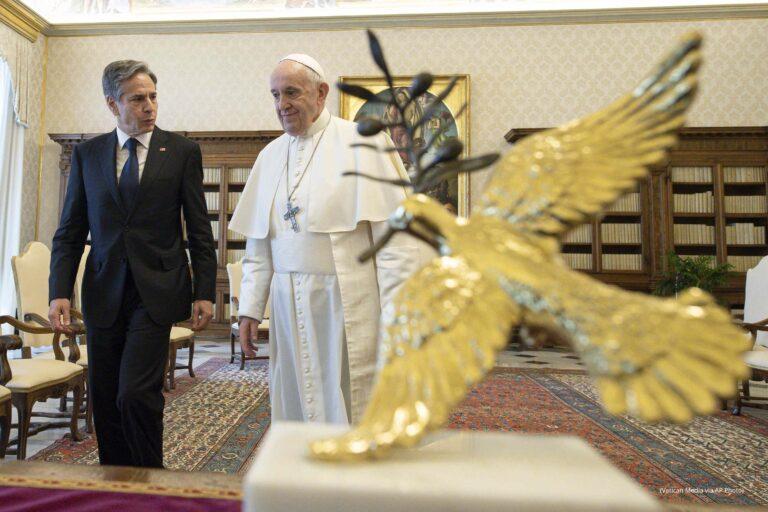 APTOPIX Vatican US Blinken