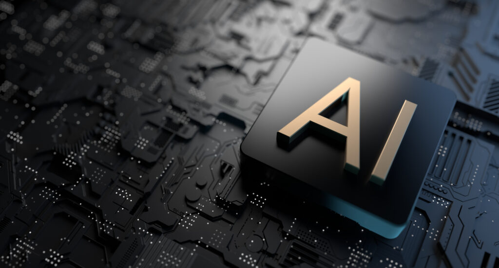 Artificial,Intelligence,,Technology,3d,Illustration