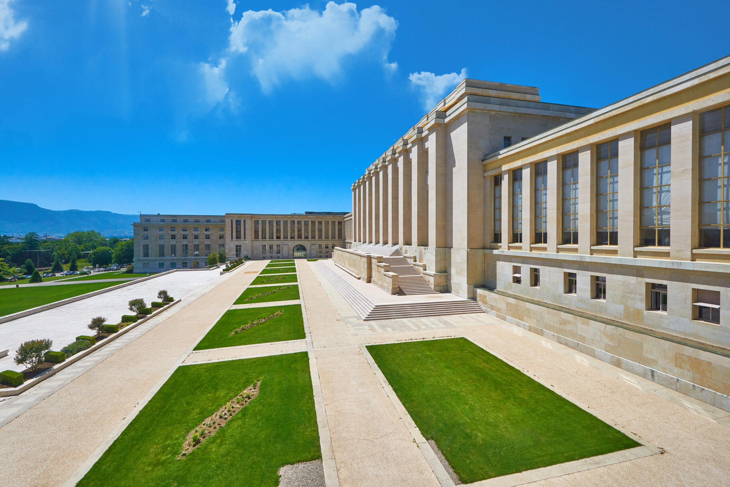 Geneva,,Switzerland, ,June,2019:,Park,In,The,United,Nations