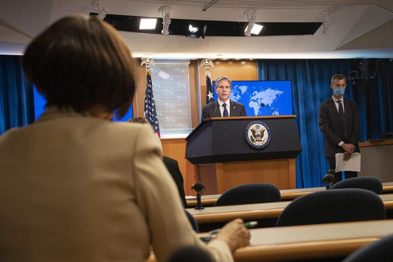 Secretary Blinken Afghanistan P 2 Program