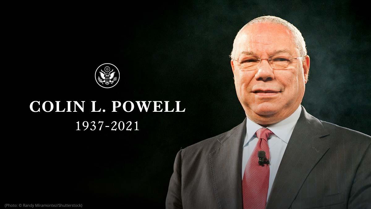 Colin L. Powell 1937-2021