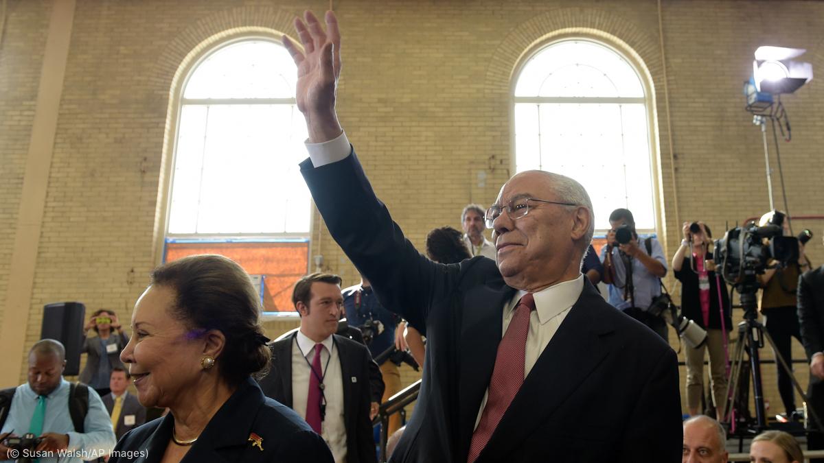 Honoring Secretary Colin Powell