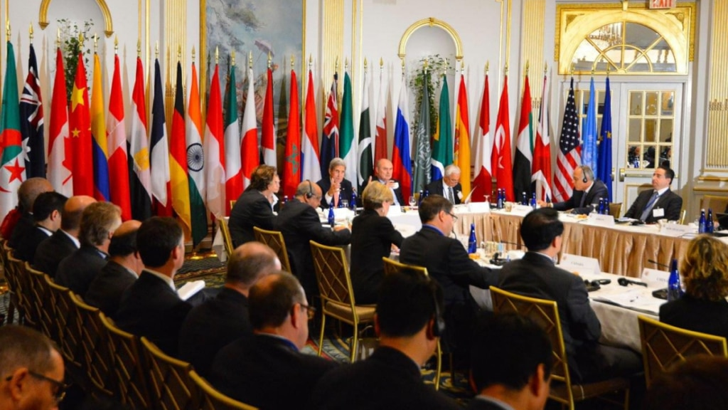 Former U.S. Secretary of State John Kerry and former Foreign Minister of the Republic of Turkey Feridun Sinirlioğlu co-chaired the Sixth Ministerial Plenary Meeting of the Global Counterterrorism Forum in New York in 2015.